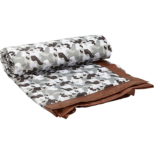 Wildkin Gray Camo Picnic Blanket Grey Camo - Wildkin Travel Comfort and Health