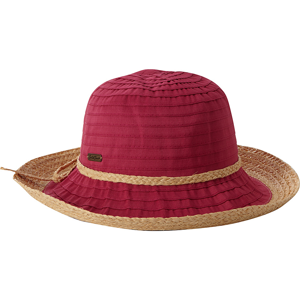 Sun N Sand Akira One Size - Fuchsia - Sun N Sand Hats/Gloves/Scarves - Fashion Accessories, Hats/Gloves/Scarves