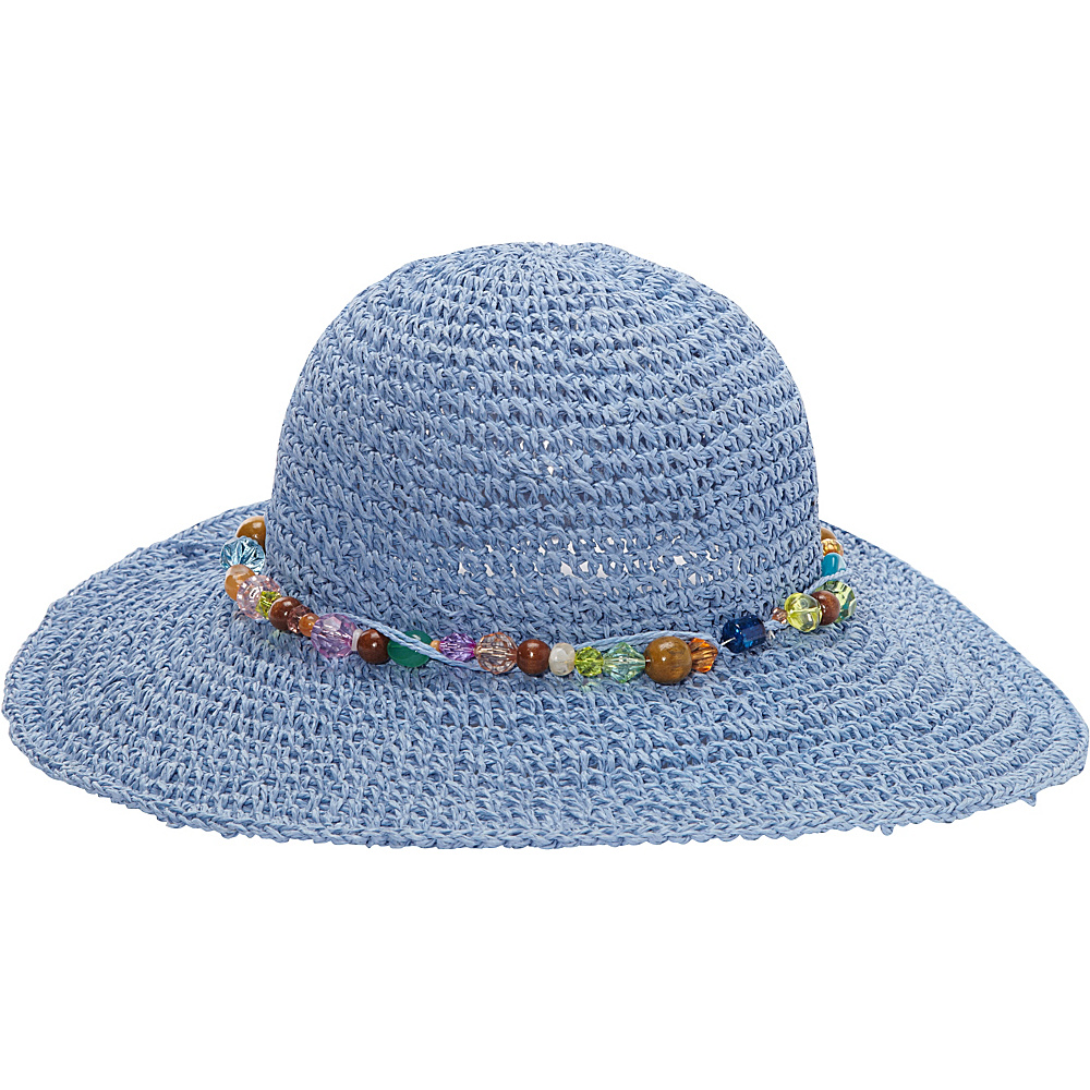 Sun N Sand Crystal Bay One Size - Blue - Sun N Sand Hats/Gloves/Scarves - Fashion Accessories, Hats/Gloves/Scarves