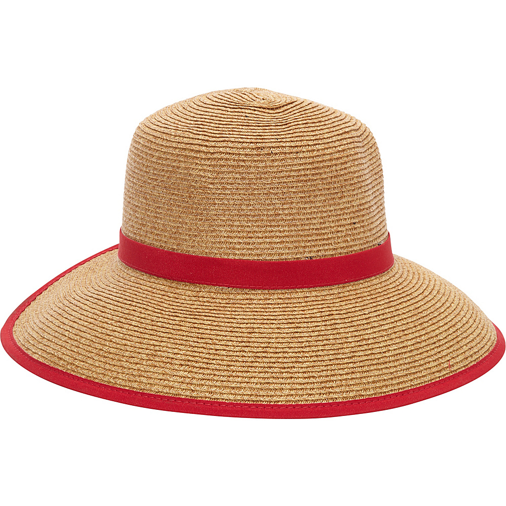 Sun N Sand French Laundry One Size - Red - Sun N Sand Hats/Gloves/Scarves - Fashion Accessories, Hats/Gloves/Scarves