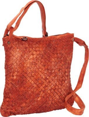 Latico Leathers Jacqueline Shoulder Bag Orange - Latico Leathers Leather Handbags