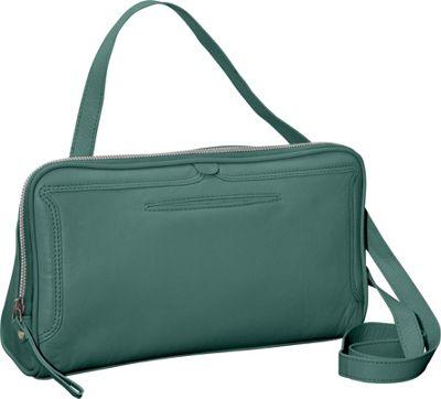 Latico Leathers Kevan Crossbody Sea Green - Latico Leathers Leather Handbags