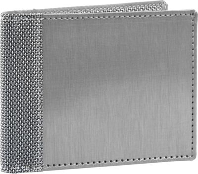 Stewart Stand Bill Fold Stainless Steel Wallet - RFID Silver/Grey Mesh - Stewart Stand Men's Wallets