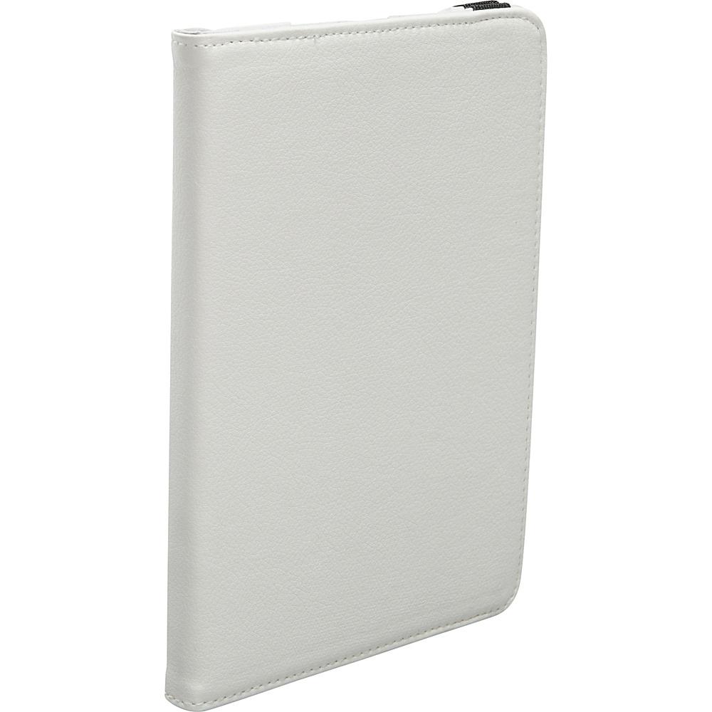 Bellino 360 Rotation Mini iPad Case White - Bellino Electronic Cases
