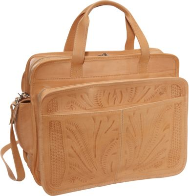 Ropin West Briefcase Natural - Ropin West Non-Wheeled Business Cases
