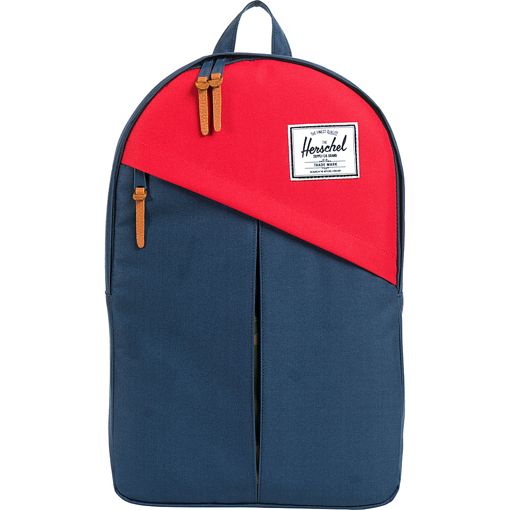 Herschel Supply Co. Parker Laptop Backpack Navy Red Herschel Supply Co. Business Laptop Backpacks