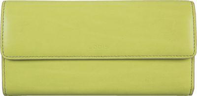 Lodis Audrey Checkbook Clutch Wallet - Fashion Colors Lime/Dove - Lodis Women's Wallets
