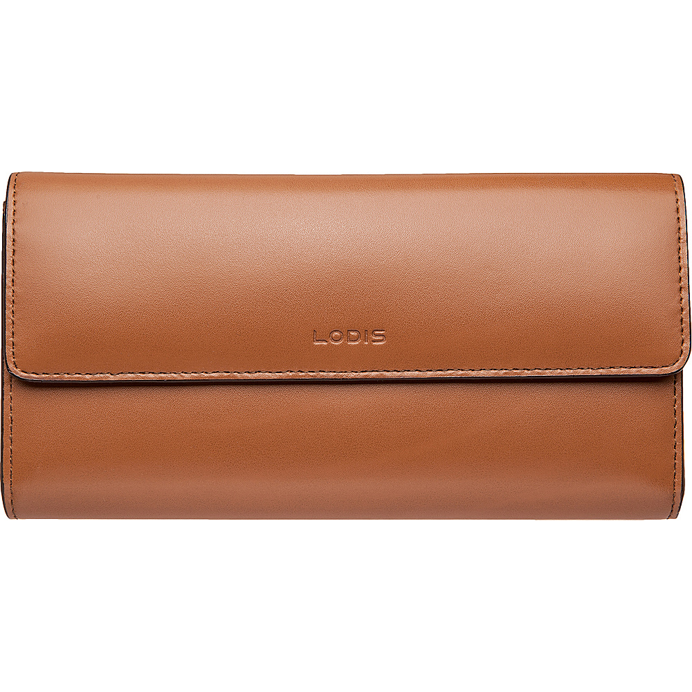 Lodis Audrey RFID Checkbook Clutch Wallet Toffee - Lodis Womens Wallets - Women's SLG, Women's Wallets