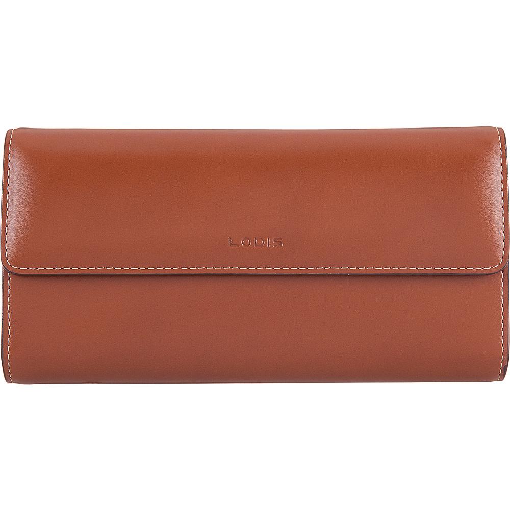Lodis Audrey RFID Checkbook Clutch Wallet Sequoia/Papaya - Lodis Womens Wallets - Women's SLG, Women's Wallets
