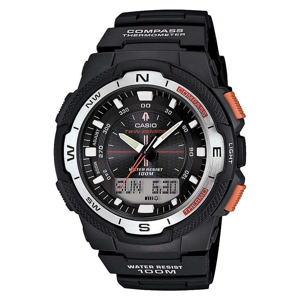 Casio Men's Ana-Digi Sport Watch Black - Casio Watches