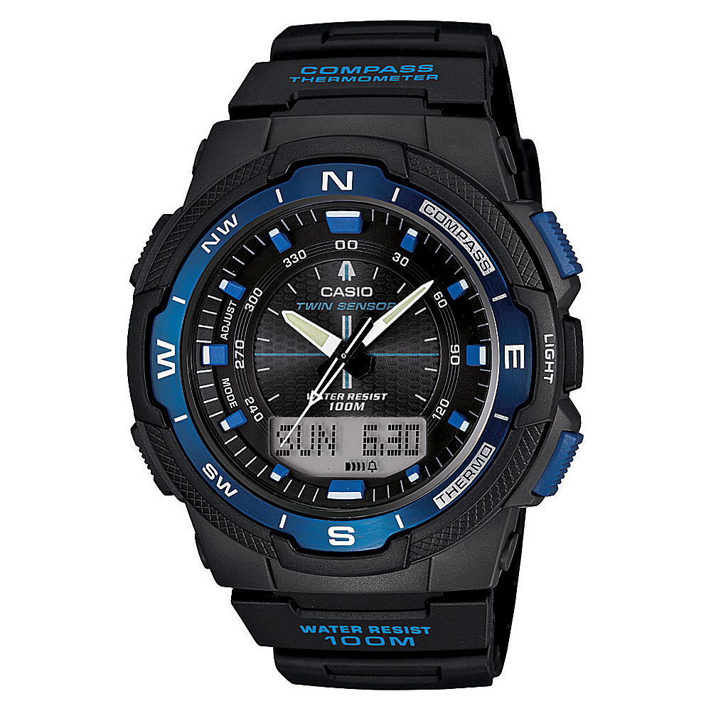Casio Men's Ana-Digi Sport Watch Blue - Casio Watches