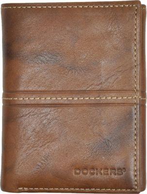 Dockers Glazed Rustler Trifold Brown - Dockers Men's Wallets