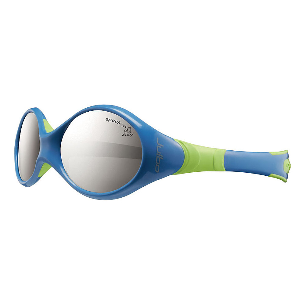 Julbo Kids Looping 2 Spectron 4 Baby Lens 12 24 mths Blue Lime Julbo Sunglasses