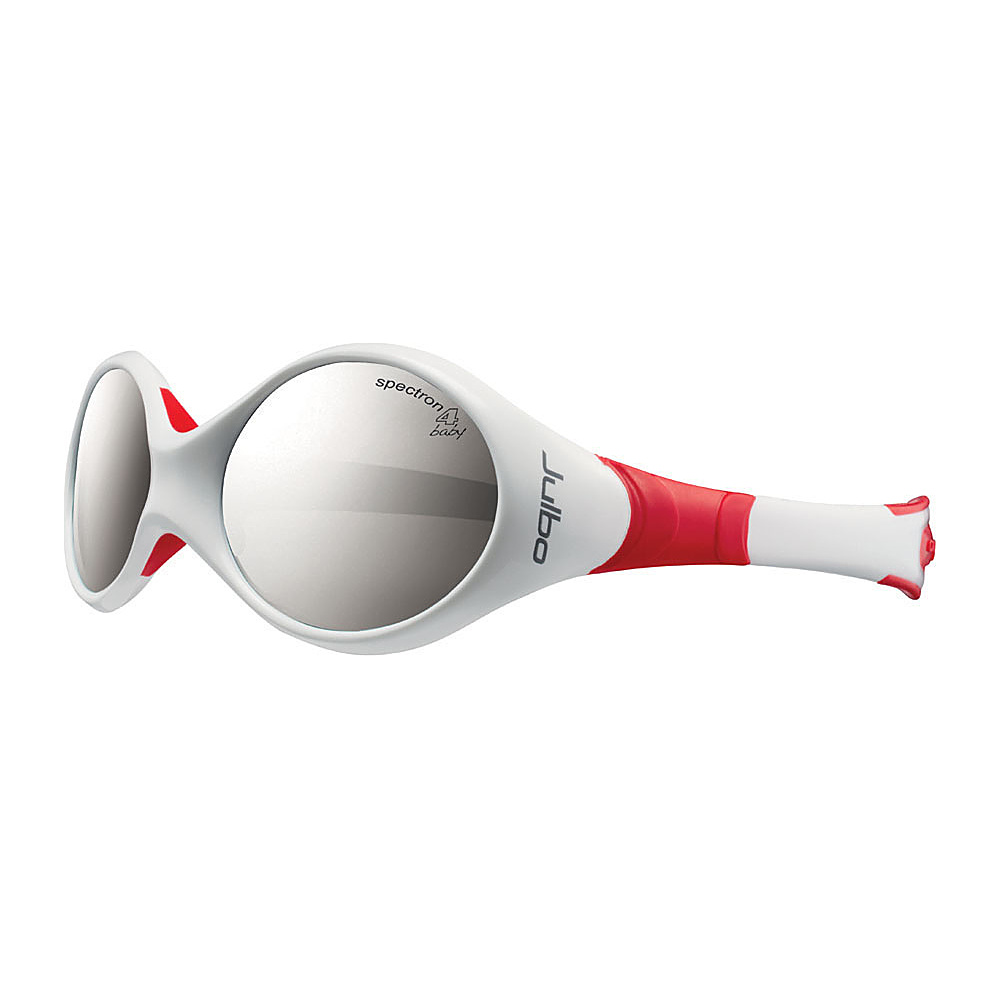 Julbo Kids Looping 2 Spectron 4 Baby Lens 12 24 mths White Red Julbo Sunglasses