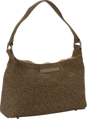 Betmar New York Mini Hobo Rattlesnake - Betmar New York Fabric Handbags