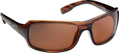 Hobie Eyewear Malibu Brown Wood Grain Frame With Copper PC Lens - Hobie Eyewear Sunglasses