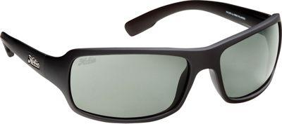 Hobie Eyewear Malibu Satin Black Frame With Grey PC Lens - Hobie Eyewear Sunglasses