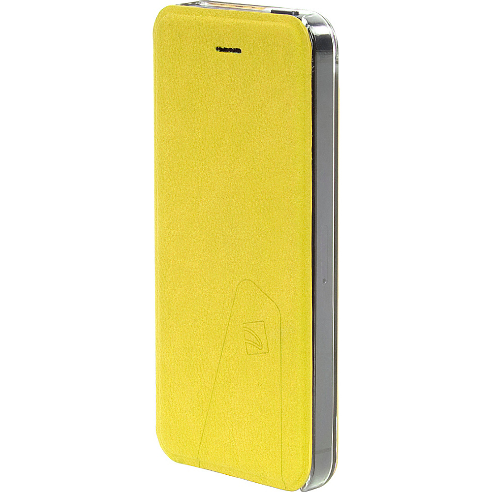Tucano Libretto Flip Case For iPhone SE 5 5S Yellow Tucano Electronic Cases