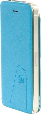 Tucano Libretto Flip Case For iPhone SE/ 5/5S Sky Blue - Tucano Electronic Cases
