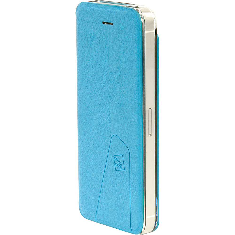Tucano Libretto Flip Case For iPhone SE 5 5S Sky Blue Tucano Electronic Cases