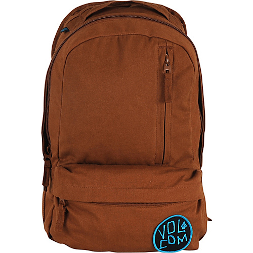 Volcom Basis Slouch Backpack Brown - Volcom School & Day Hiking Backpacks
