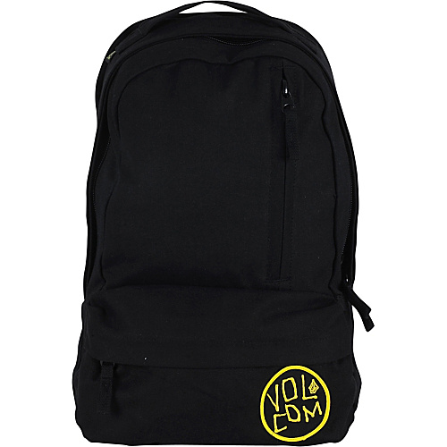 Volcom Basis Slouch Backpack Tinted Black - Volcom School & Day Hiking Backpacks
