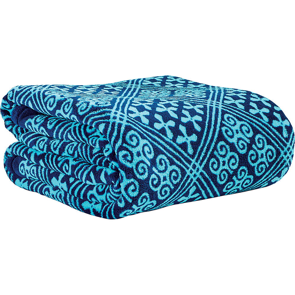 Vera Bradley Throw Blanket Cuban Tiles - Vera Bradley Travel Pillows & Blankets - Travel Accessories, Travel Pillows & Blankets