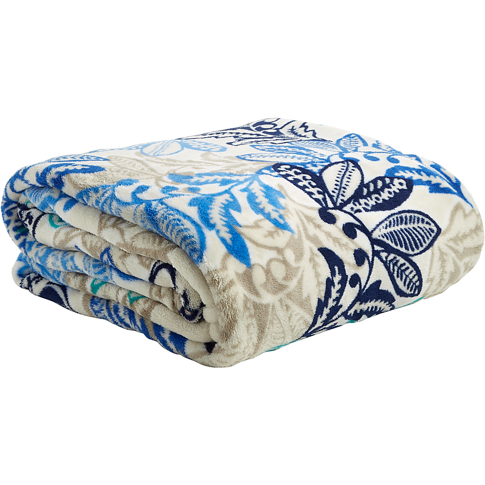 Vera Bradley Throw Blanket Santiago - Vera Bradley Travel Pillows & Blankets - Travel Accessories, Travel Pillows & Blankets
