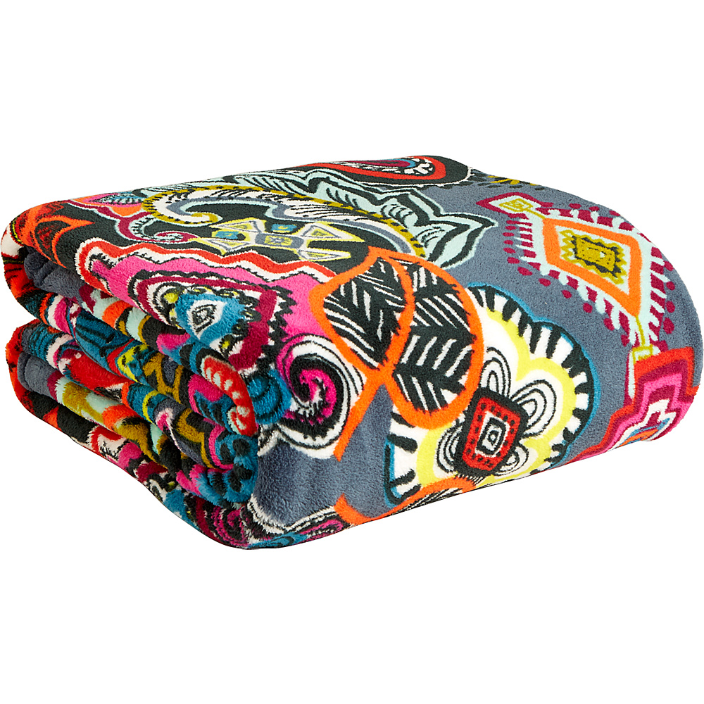Vera Bradley Throw Blanket Painted Medallions - Vera Bradley Travel Pillows & Blankets - Travel Accessories, Travel Pillows & Blankets