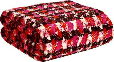 Vera Bradley Throw Blanket Houndstooth Tweed - Vera Bradley Travel Pillows & Blankets