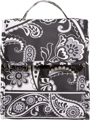 Vera Bradley Lunch Sack Midnight Paisley - Vera Bradley Travel Coolers