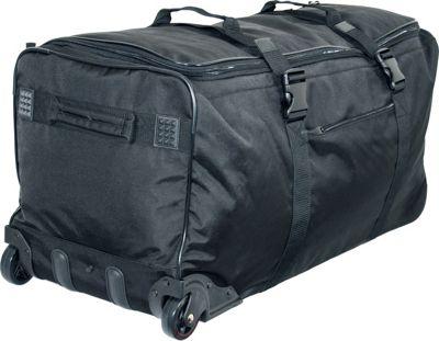 Netpack Standing UP Travel Wheeled Duffel Black - Netpack Rolling Duffels