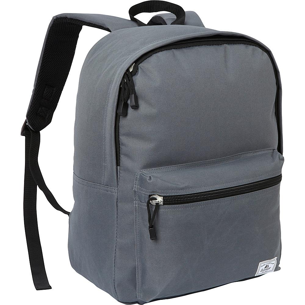 Everest Deluxe Laptop Backpack Dark Gray - Everest Business & Laptop Backpacks - Backpacks, Business & Laptop Backpacks