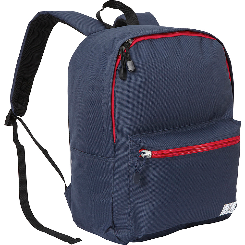Everest Deluxe Laptop Backpack Navy - Everest Business & Laptop Backpacks - Backpacks, Business & Laptop Backpacks