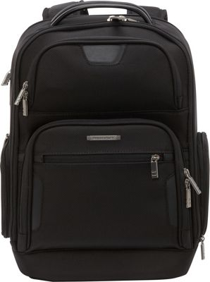 Briggs & Riley Medium Laptop Backpack Black - Briggs & Riley Laptop Backpacks