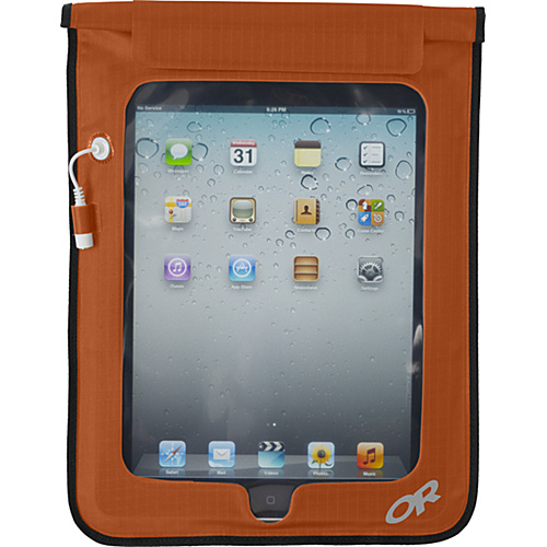 Outdoor Research Sensor Dry Pocket Tablet Ember - Outdoor Research Packing Aids