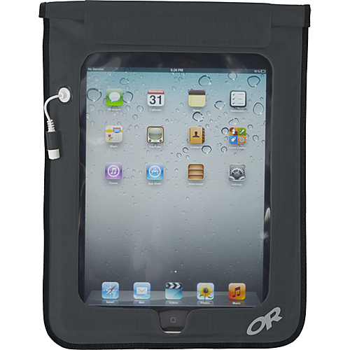 Outdoor Research Sensor Dry Pocket Tablet Charcoal - Outdoor Research Packing Aids