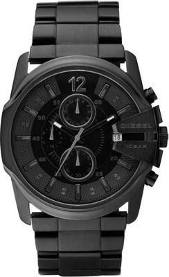 Diesel Watches Master Chief Black/Black - Diesel Watches Watches