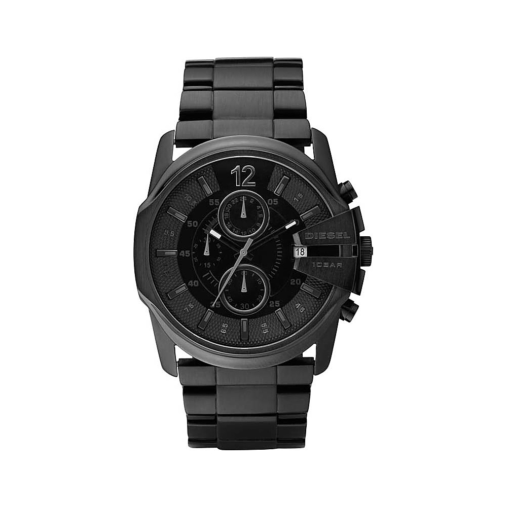 Diesel Watches Master Chief Black Black Diesel Watches Watches