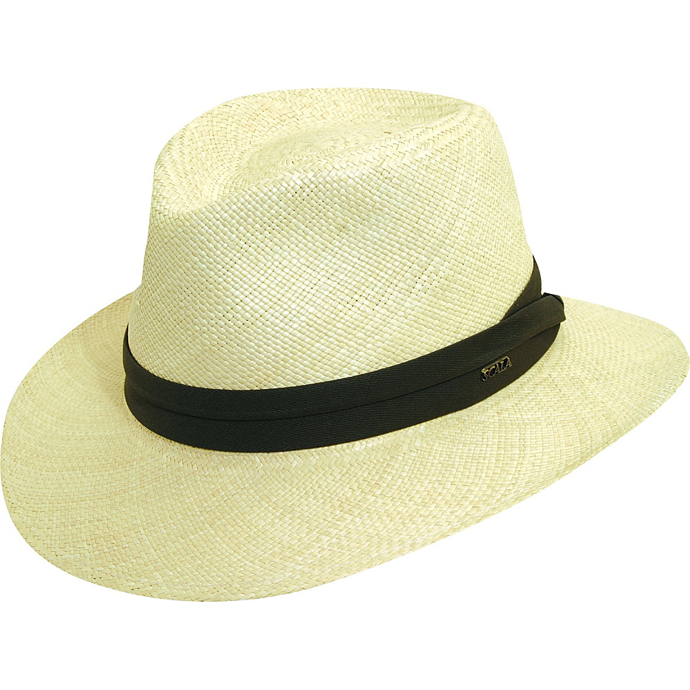Scala Hats Panama Outback Hat Natural XXLarge Scala Hats Hats Gloves Scarves