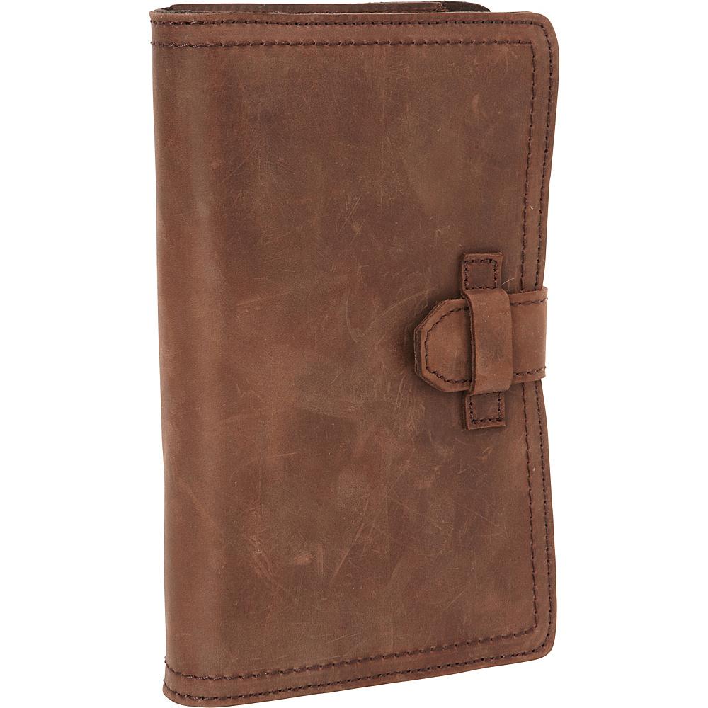 Vagabond Traveler 9 Universal Leather Passport/Check Holder Distress - Vagabond Traveler Travel Wallets - Travel Accessories, Travel Wallets