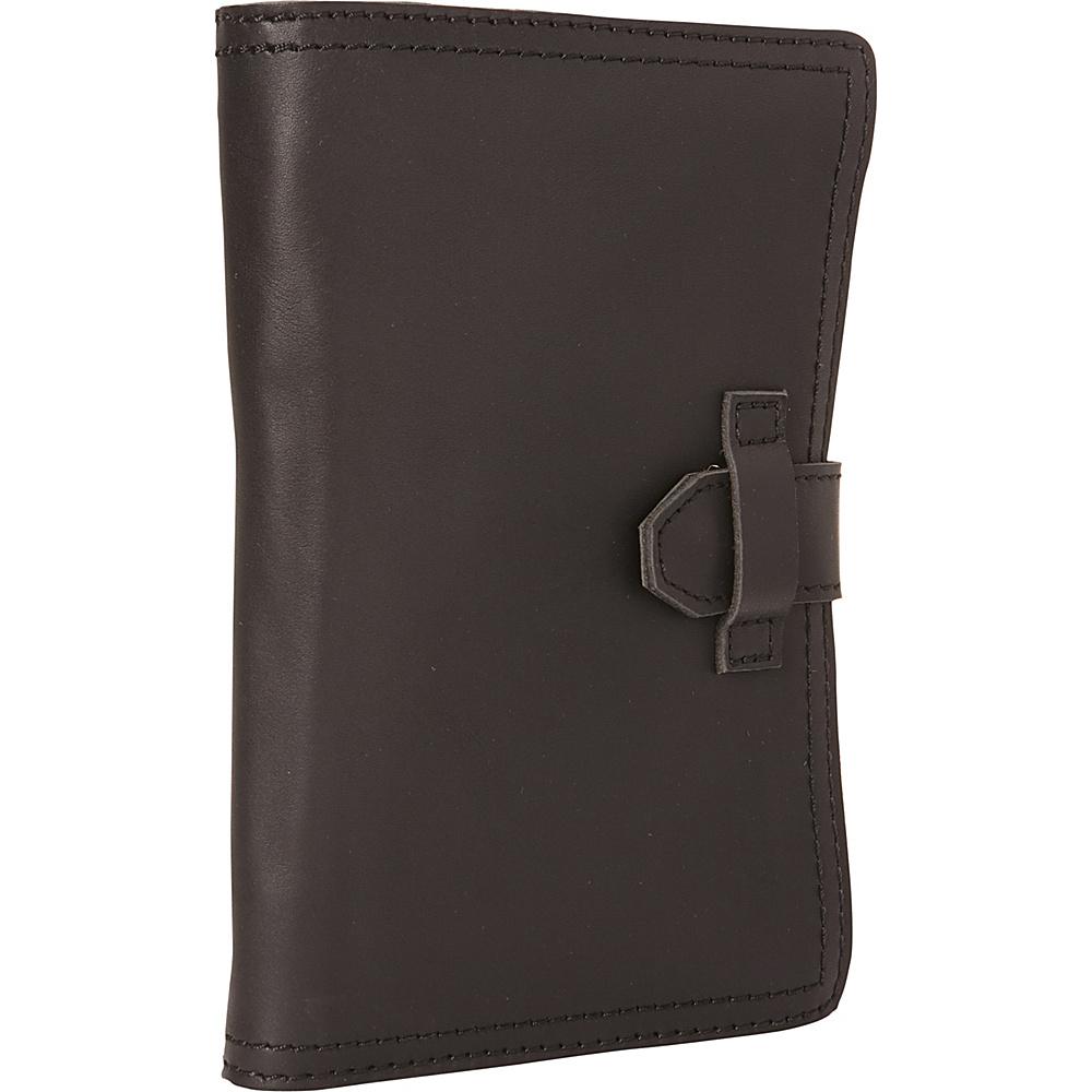 Vagabond Traveler 9 Universal Leather Passport/Check Holder Black - Vagabond Traveler Travel Wallets - Travel Accessories, Travel Wallets