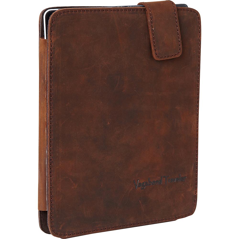 Vagabond Traveler Leather iPad Case Vintage Brown - Vagabond Traveler Electronic Cases - Technology, Electronic Cases
