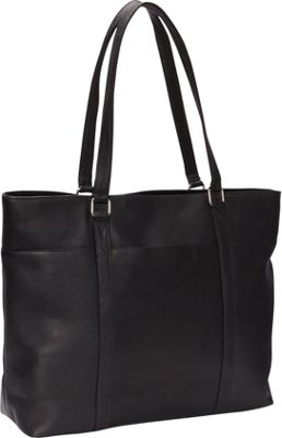 Le Donne Leather Women's Laptop Tote Black - Le Donne Leather Ladies' Business