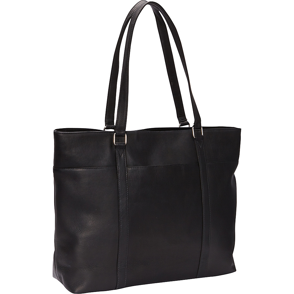 Le Donne Leather Womens Laptop Tote Black - Le Donne Leather Womens Business Bags - Work Bags & Briefcases, Women's Business Bags