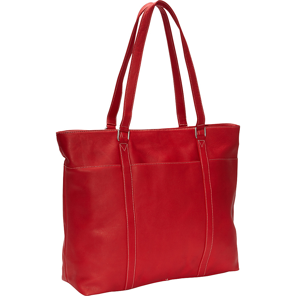 Le Donne Leather Womens Laptop Tote Red - Le Donne Leather Womens Business Bags - Work Bags & Briefcases, Women's Business Bags
