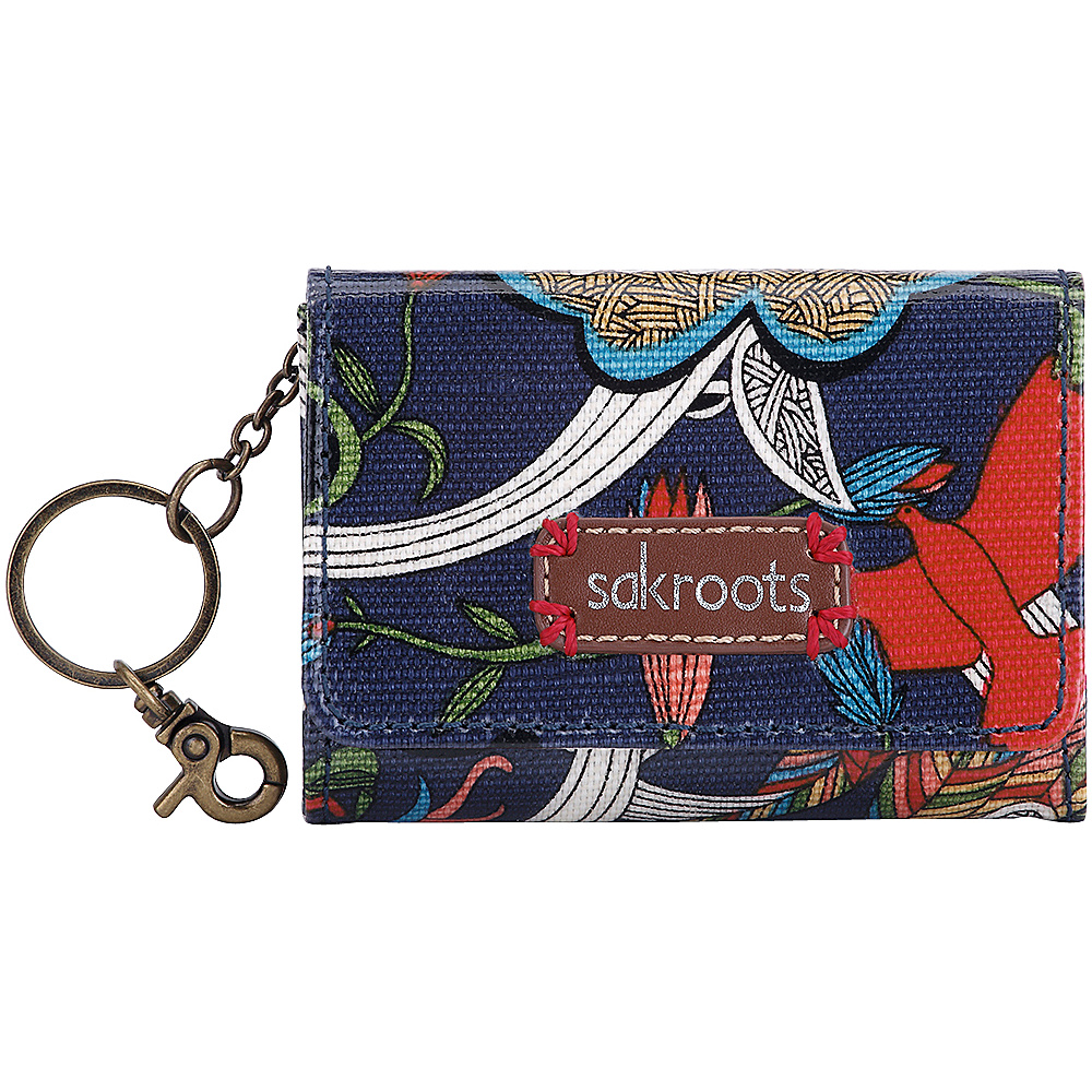 Sakroots Artist Circle Flap ID Keychain River Peace - Sakroots Womens SLG Other - Women's SLG, Women's SLG Other