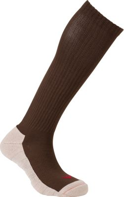 Image of Active Energy Travel Comfort All Season OTC Socks Brown - Active Energy Travel Comfort and Health