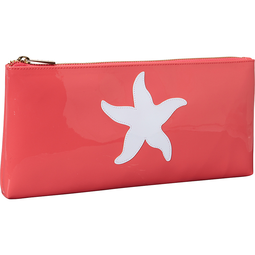 pb travel Manning Clutch Watermelon White Starfish pb travel Women s Wallets