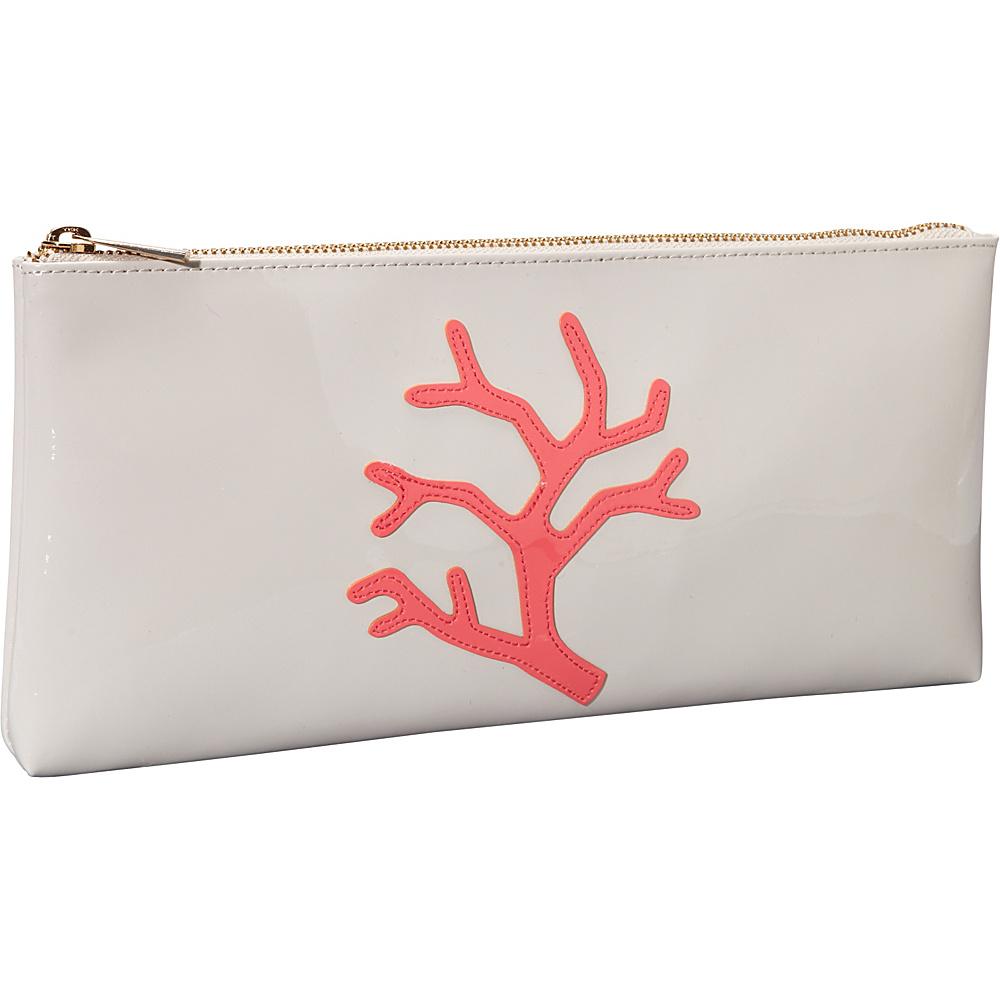 pb travel Manning Clutch Blush Watermelon Coral Branch pb travel Women s Wallets